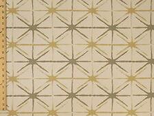 Swavelle Millcreek Avedis Jacquard Stars Geometric Cream Upholstery Fabric