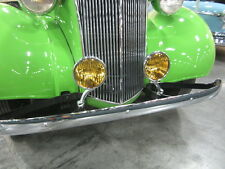FOG LIGHTS WITH BRACKETS CHEVROLET TRUCKS 1936 1937 1338 1939 1940