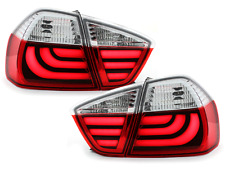 Fanali posteriori LED BMW E90 Serie 3 Lim. 05-08_red crystal