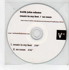 (FV528) Keith John Adams, Music In My Feet - 2014 DJ CD