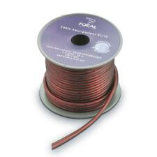 FOCAL ES15 Flat Kabel Lautsprecher Spule Von 12 Meter 100% Ofc Kupfer > 1,5 MM