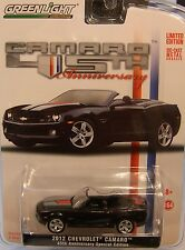 2012 CAMARO CONVERTIBLE 45TH ANNIVERSARY GREENLIGHT 1:64 SCALE DIECAST METAL CAR