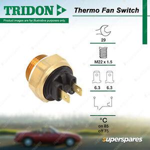 Tridon Thermo Fan Switch for Alfa Romeo 75 90 164 Alfetta Giulietta GTV Spider