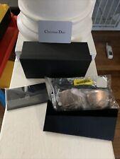 Dior sunglasses Safilo Gold Silver New In Box