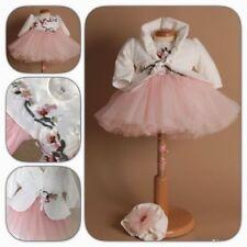 Taufkleid FLORA Babykleid Kleid Festkleid Taufe italienische Mode NEU