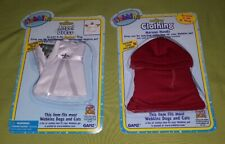 Ganz Webkinz Angel Dress & Maroon Hoody Clothing Lot for Dogs & Cats