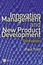 Innovation Management And New Product Development, Trott, Paul, New Book