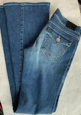 True Religion Women's Medium Wash Super T Bootcut Flare Flap Pocket (27)