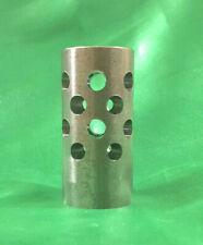 "Steel Muzzle Brake 1.0"" Diameter 2.1"" Long 5/8 x 24 Threads 630 Deep"