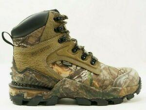 "Irish Setter Deer Tracker Mens 7"" Waterproof Hunting Boots Realtree Xtra - NEW"