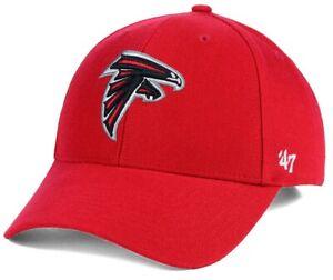 Atlanta Falcons NFL '47 MVP Basic Red Structured Hat Cap Adult Men's Adjustable