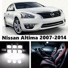 14pcs LED Xenon White Light Interior Package Kit for Nissan Altima 2007-2014