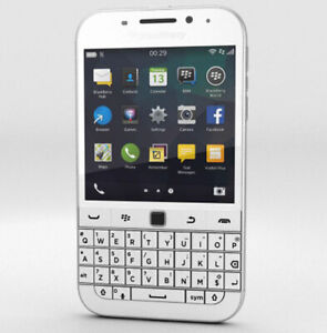 BLACKBERRY Q20 Classic White 2gb Ram 16gb Rom 3.5 Screen Unlocked Lte Smartphone