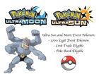 Pokemon Ultra Sun and Moon Saori Yoshida Machamp Japan Event Pokemon