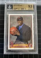 DWYANE WADE ROOKIE 2003 TOPPS #225 BGS 9.5-x4(TRUE GEM MINT)PSA 10 Comp -LOW POP