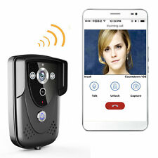 ENNIO Wifi Video Camera Door Phone Wireless Doorbell Intercom for Android IOS
