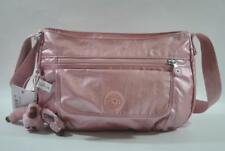 New With Tag Kipling SYRO GM Shoulder Crossbody Bag - Icy Rose Metallic