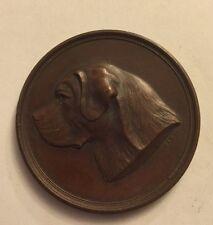 Medaille St. Bernhards Klub München 1900 Bernhardiener Hund