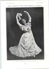 1905 Mlle Adeline Genee Dancing Frank Richardson Dialogue