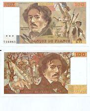 Gertbrolen 100 FRANCS EUGENE  DELACROIX de 1984   D.75 Billet N° 1853726985