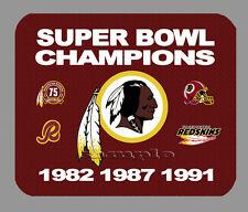 Item#331 Washington Redskins Championship Banner Mouse Pad
