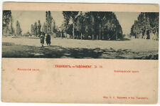Tashkent View, Russian Central Asia, 1900s, Scherer issue