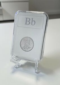 2018 A-Z 10P COIN LETTER B Alphabet in Capsule Uncirculated James Bond 007