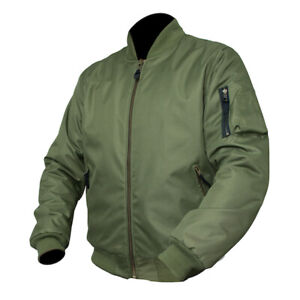 ARMR Moto Aramid Bomber Jacket Retro Classic Streetfigter Waterproof SRP £139