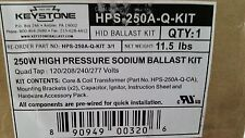 KEYSTONE 250W HIGH PRESSURE SODIUM BALLAST KIT,  HPS-250A-Q-KIT