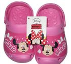 Girls Crocs Cloggs Disney Minnie Mouse Pink