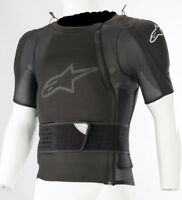 ALPINESTARS SEQUENCE PROTECTION JACKET SHORT SLEEVE BLACK TG L