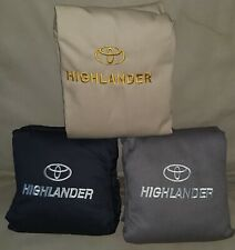 Toyota Highlander 2014-2020 3 Row Seat Covers Full Set