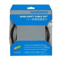 Workshop Made Shimano OPTISLICK SP41 Road Shift Cable Set Gear Y60198010 BLACK
