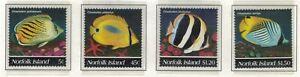 Norfolk Island, Scott 577 - 580 in MNH Condition
