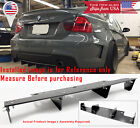 "26"" x 6.5"" Universal Textured Splitter Rear Bumper Diffuser Fins Canards For BMW"