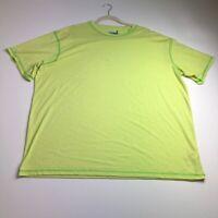 Magellan Fish Gear MagWick Men Short Sleeve T Shirt XXL 2XL Polyester Blend Crew