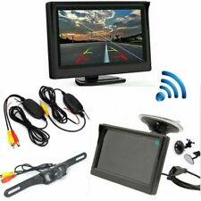 5'' LCD Wireless Car Rear View Kit LED Night Vision Reversing Camera Monitor