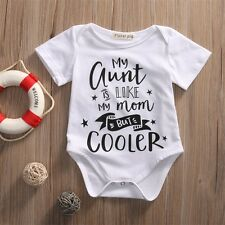 Cotton Newborn Toddler Baby Boys Girl Romper Jumpsuit Bodysuit Clothes Outfits
