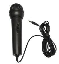 Micro microphone dynamique jack 3.5mm karaoke 2 mètres