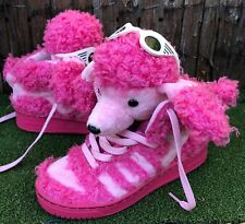 timeless design 77603 240de RARE🔥 ADIDAS JEREMY SCOTT JS POODLE PINK UNISEX SHOES LTD US 5 UK 4.5 199