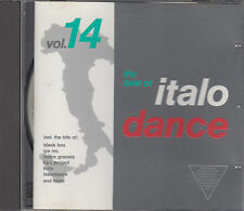 Italo Dance The Best Of Vol 14  CD Black Box Ester B FPI Project DJ Herbie