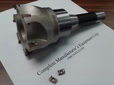 "3"" 90 degree indexable face mill, shell mill Sandvik, R8 arbor #506-SDVK-3"