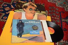 DON JOHNSON LP HEART BEAT ORIG YUGOSLAVIA 1987 LIMITED EDITION CON POSTER EX++
