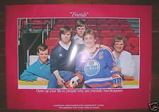 "1983 Wayne Gretzky ""Friends"" Poster"