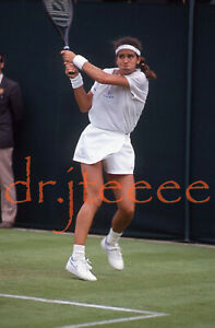 1991 WIMBLEDON Gigi Fernandez - 35mm Tennis Slide