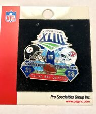 Pittsburgh Steelers  LE Super Bowl XLIII Champions Helmet Pin LotBrln
