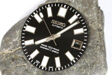 Dial & hands set for Seiko 6217-8001 (62mas) divers watches - Glossy black