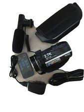 Video Camera Camcorder 2.7K 30FPS 30MP 16X Digital Zoom 3