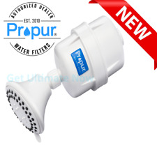 Propur Shower Filter with ProMax & Massage Head