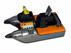 Vintage 1995 LGTI Galoob Micro Machines Deep Sea Fishing/Shark Hunter Boat